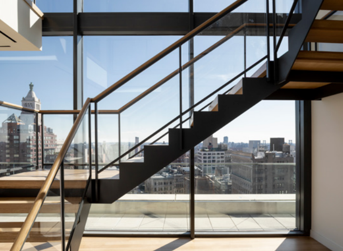 NYC Penthouse Stairs